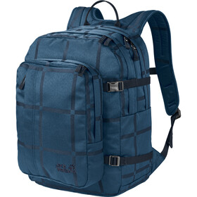 Jack Wolfskin Berkeley Y.D. Backpack indigo big check